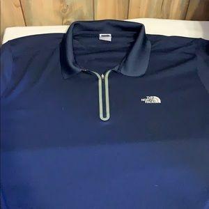 Men's XL North Face polo shirt